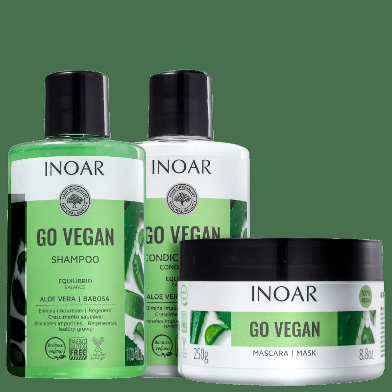 Kit Inoar Go Vegan Equilíbrio (3 Produtos)