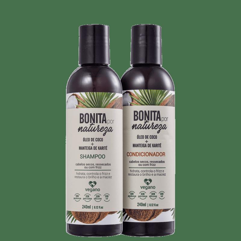 Kit Bonita por Natureza Coco e Karité (2 Produtos)
