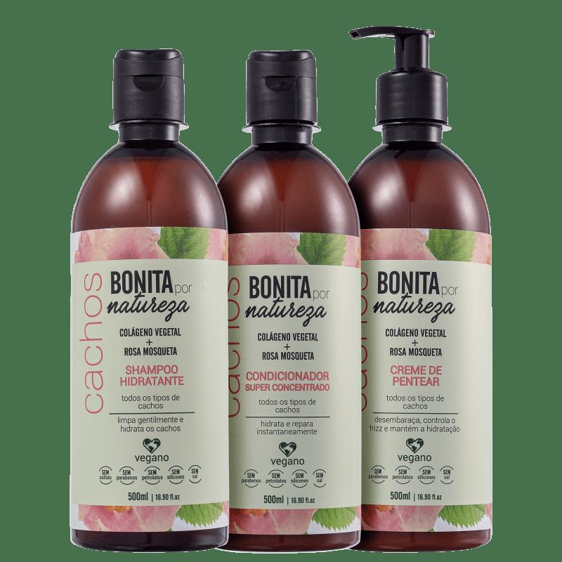 Kit Bonita por Natureza Cachos (3 Produtos)