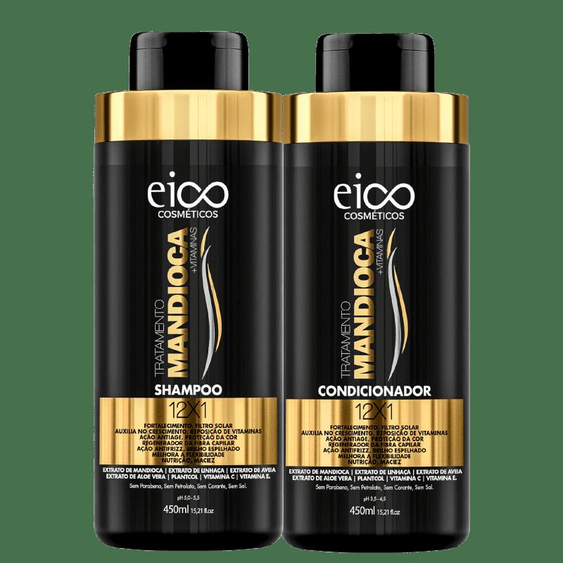 Kit Eico Tratamento Mandioca Duo (2 Produtos)