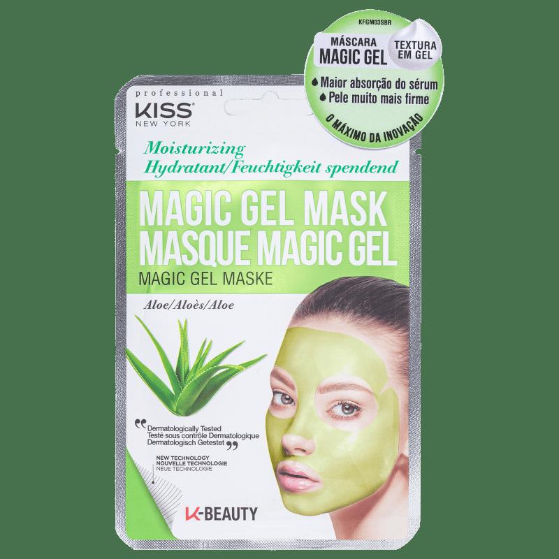 Kiss New York Magic Gel Aloe - Máscara Facial 23ml