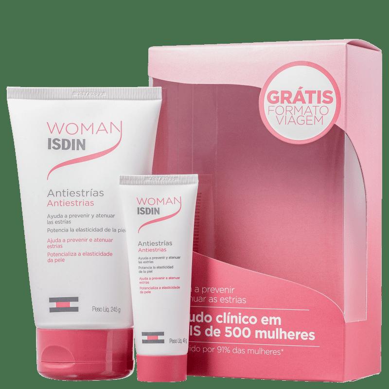 Kit ISDIN Woman Antiestrias (2 Produtos)