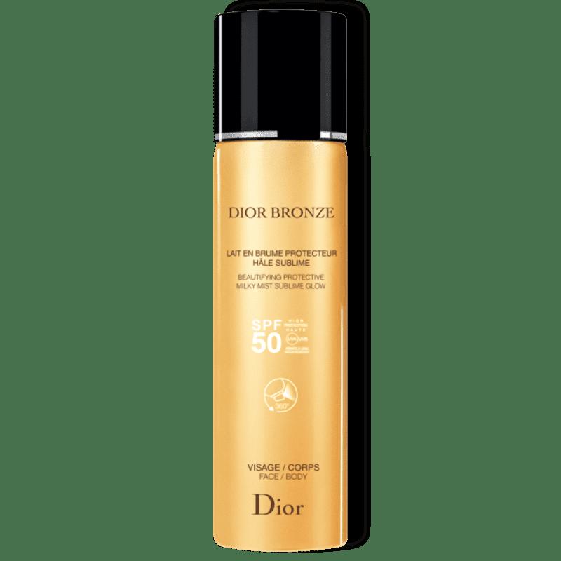 Dior Bronze Lait En Brume Hâle Sublime FPS 50 - Protetor Solar em Spray 125ml