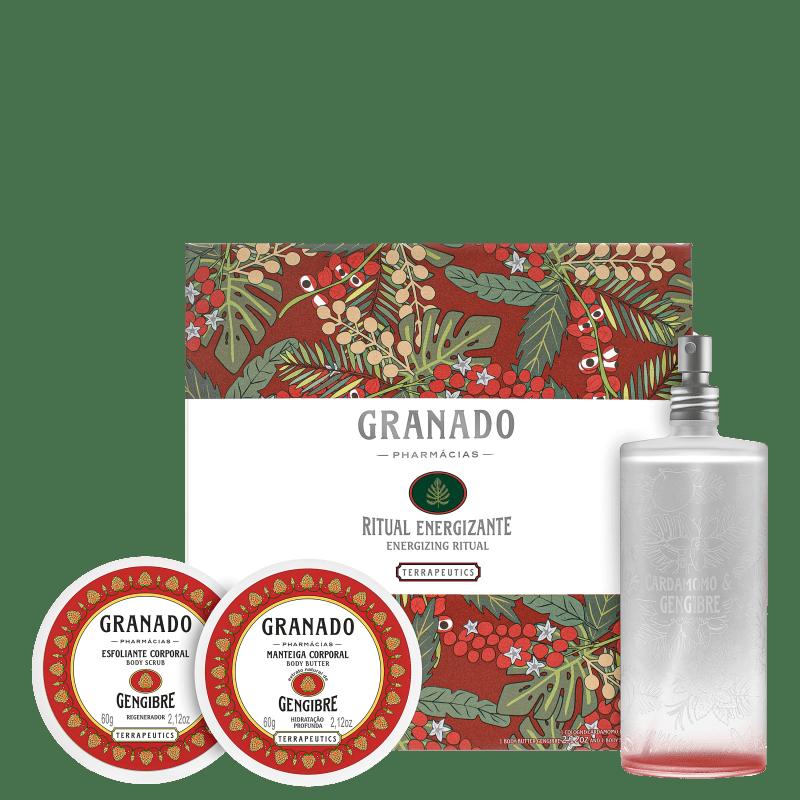 Kit Granado Terrapeutics Ritual Energizante (3 Produtos)