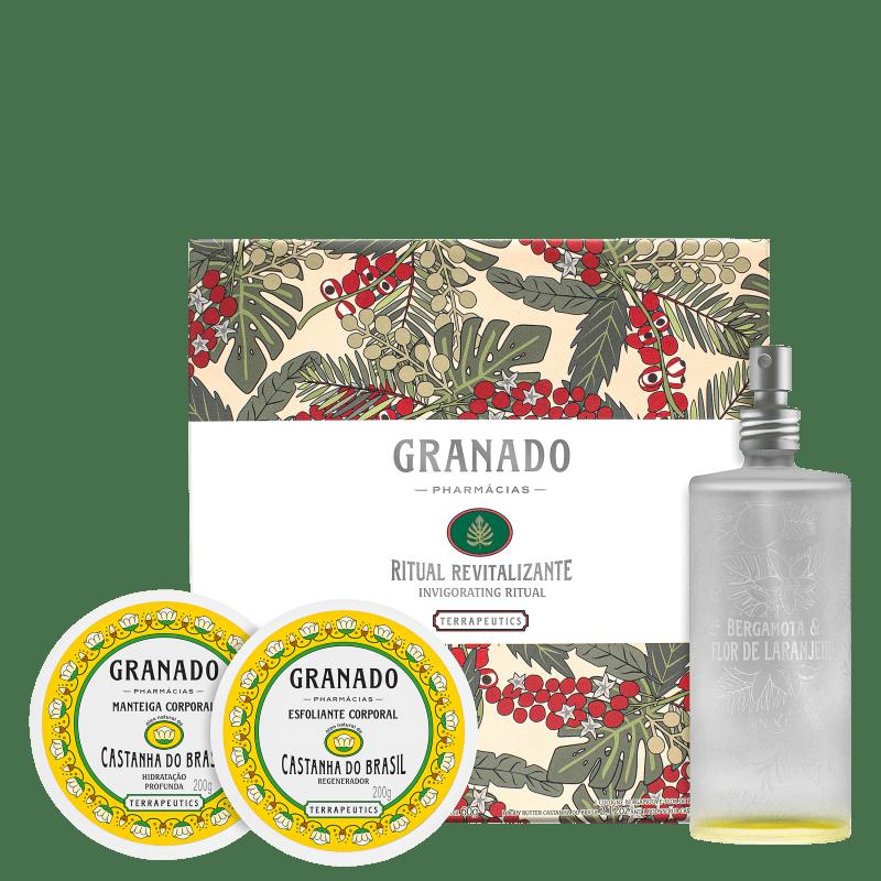 Kit Granado Terrapeutics Ritual Revitalizante (3 Produtos)
