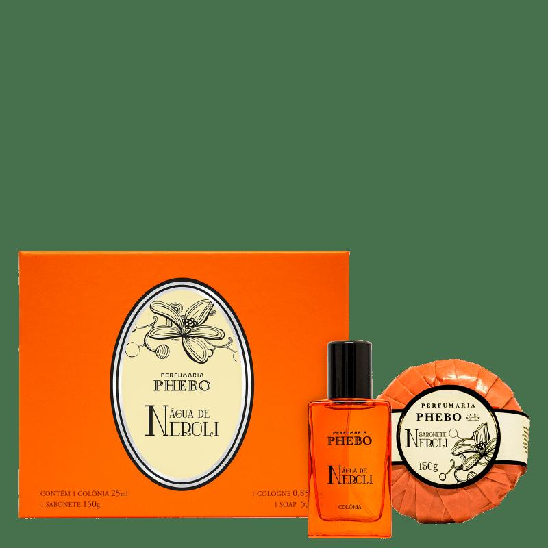 Kit Phebo Água de Neroli Miniatura Colônia & Sabonete (2 Produtos)