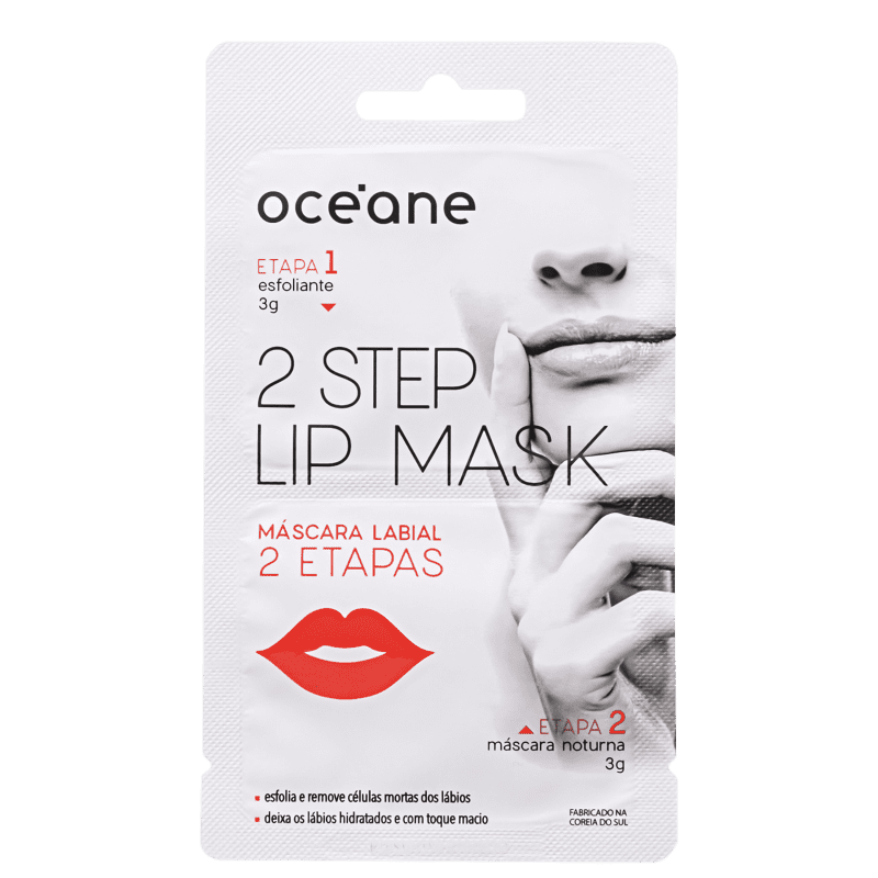 Océane 2 Step Lip Mask - Máscara Labial 6g