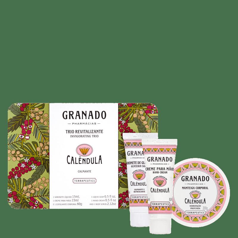 Kit Granado Trio Revitalizante Calêndula (3 produtos)