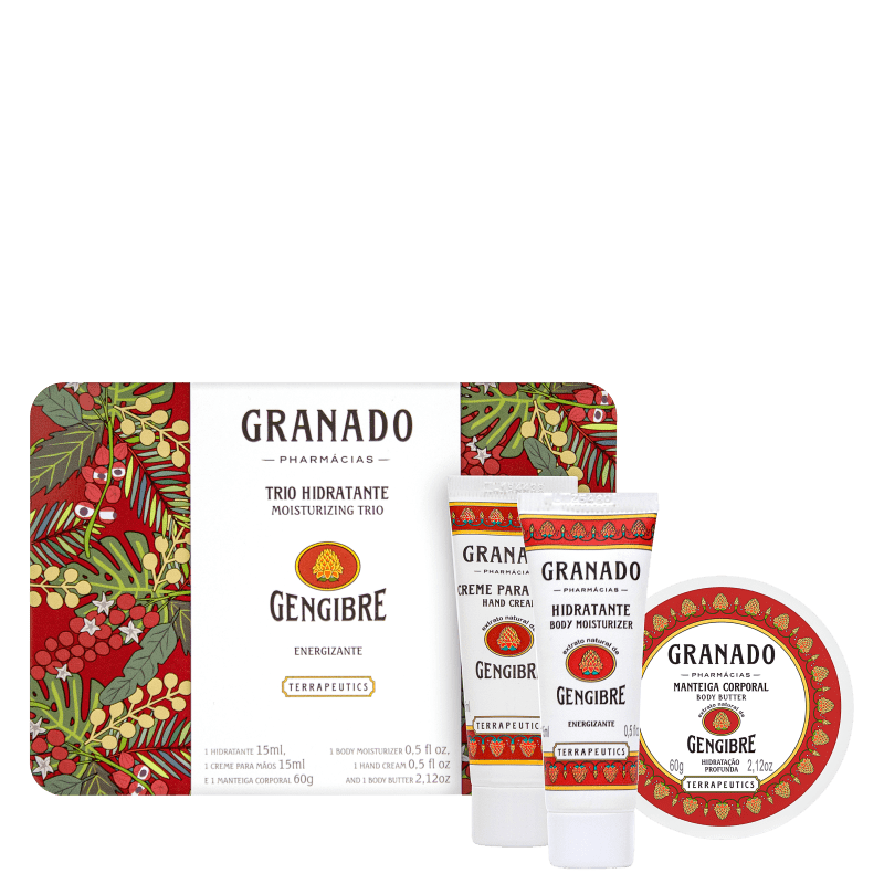 Kit Granado Trio Energizante Gengibre (3 produtos)
