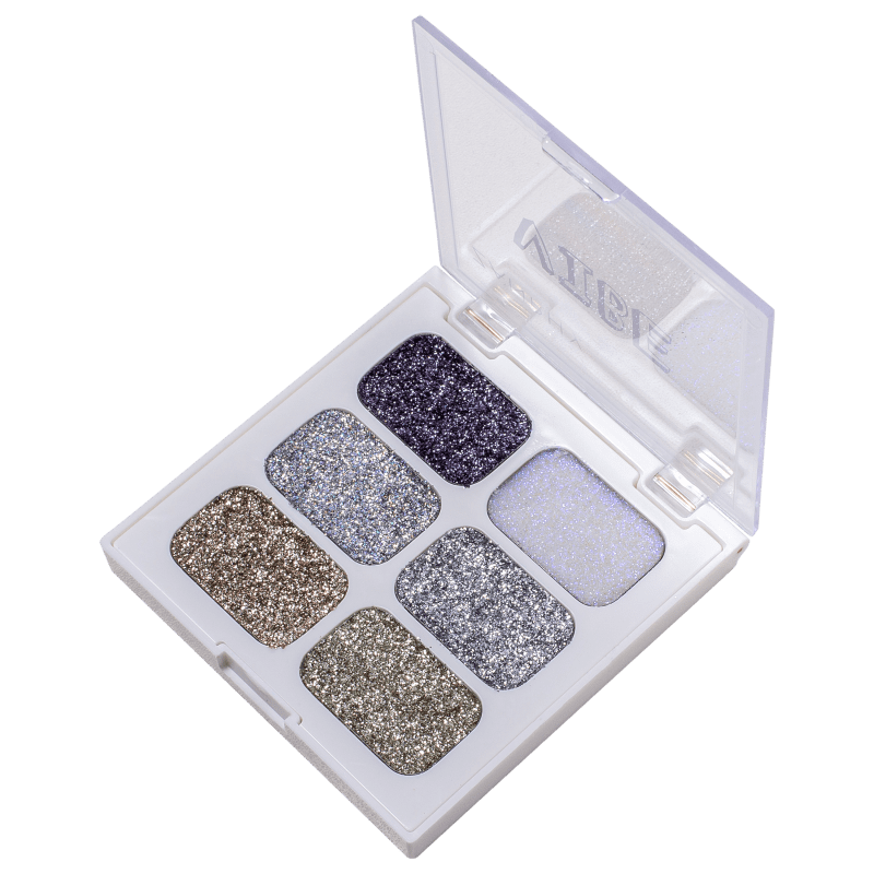 Zanphy Vibe 01 - Paleta de Glitter 9g