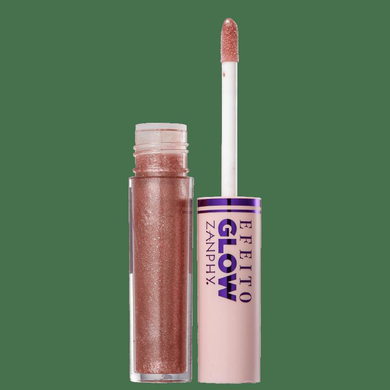Zanphy Efeito Glow 3 - Gloss Labial 3,5ml