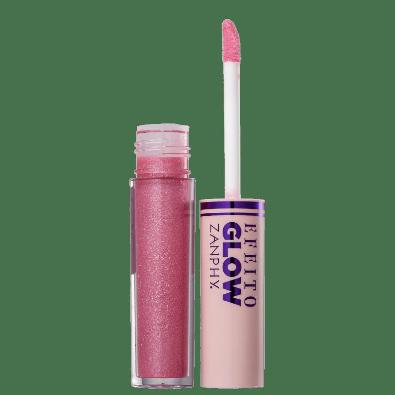 Zanphy Efeito Glow 4 - Gloss Labial 3,5ml