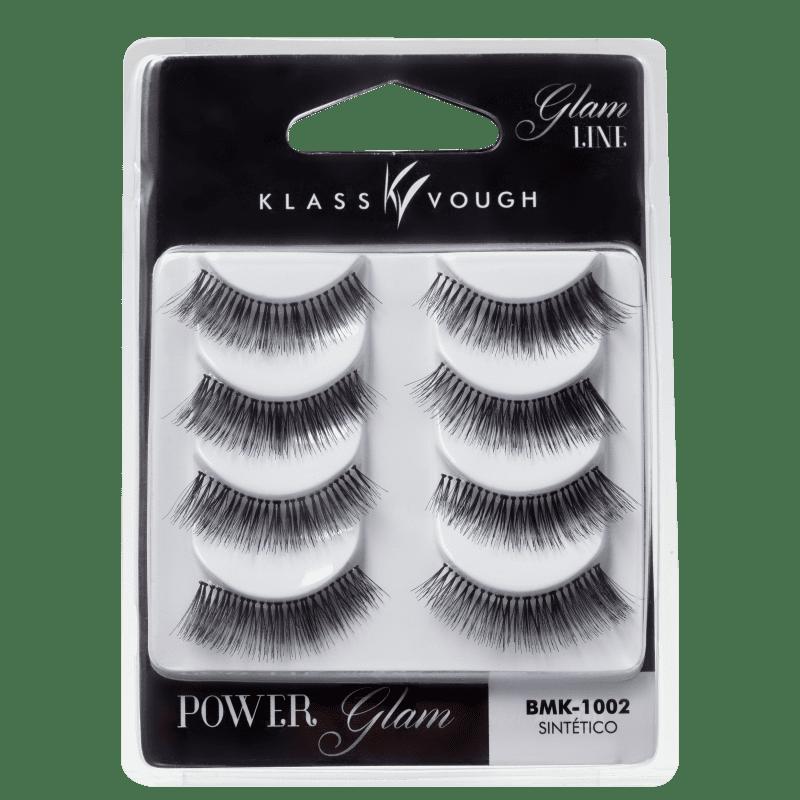 Klass Vough Power Glam 4 Pares - Cílios Postiços 20g