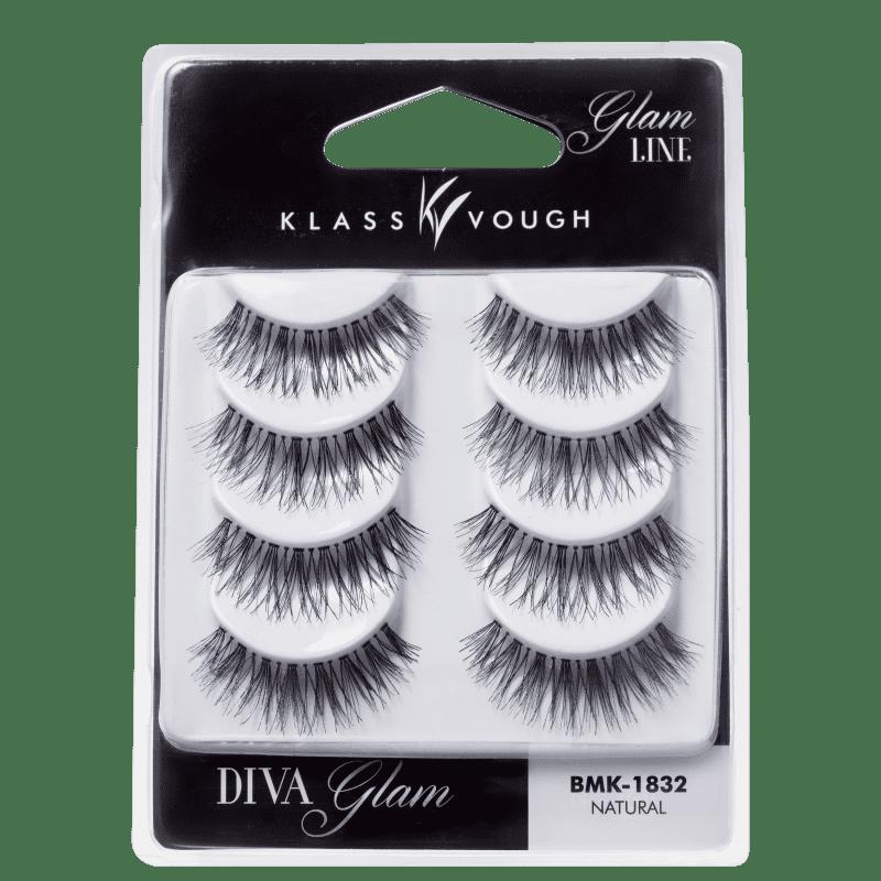 Klass Vough Diva Glam 4 Pares - Cílios Postiços 20g