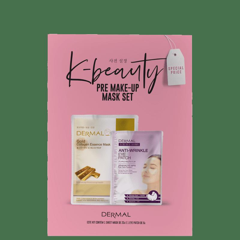 Kit Dermal Pré Make-Up Mask Set (2 Produtos)