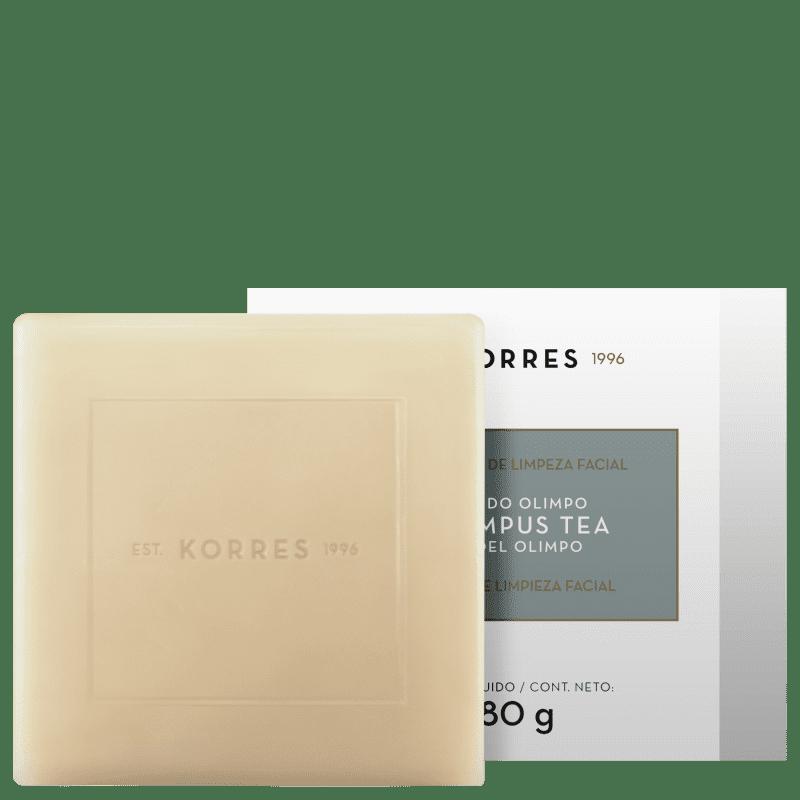 Korres Chá do Olimpo - Sabonete Facial em Barra 80g