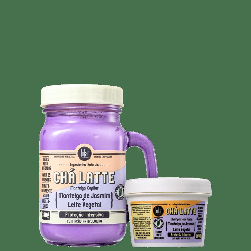 Kit Lola Cosmetics Chá Latte Manteiga de Jasmim + Leite Vegetal Duo (2 Produtos)