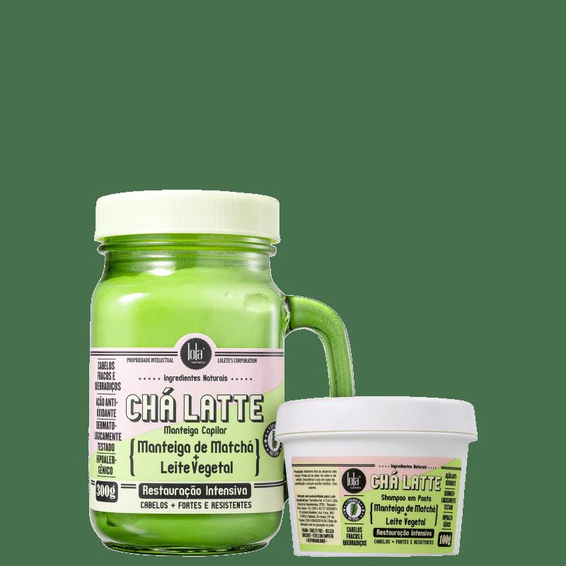 Kit Lola Cosmetics Chá Latte Matchá + Leite Vegetal Duo (2 Produtos)