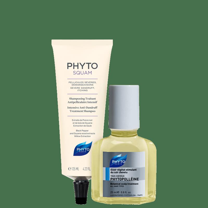 Kit PHYTO Phytosquam & Phytopolléine (2 Produtos)