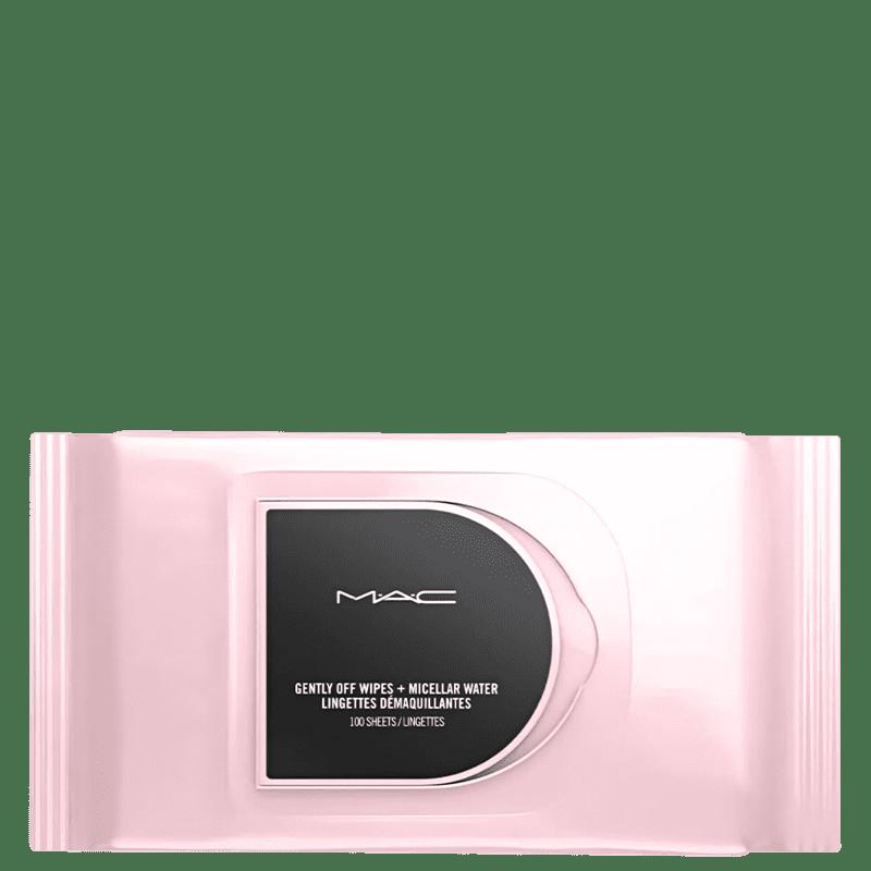 M·A·C Gently Off Wipes + Micellar Water - Lenços Demaquilantes (80 Unidades)