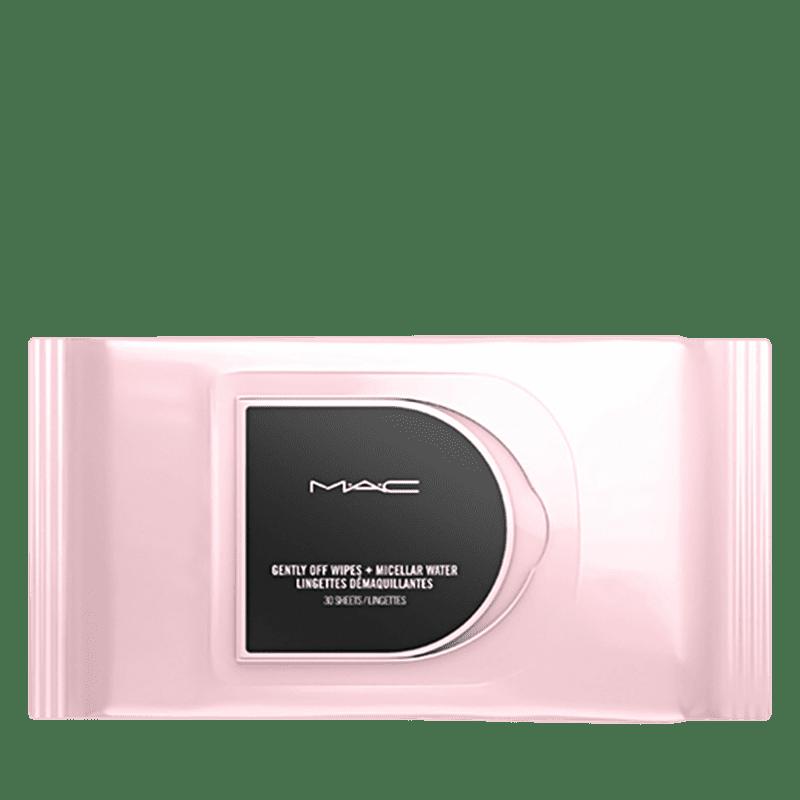 M·A·C Gently Off Wipes + Micellar Water Mini - Lenço Demaquilante (30 Unidades)