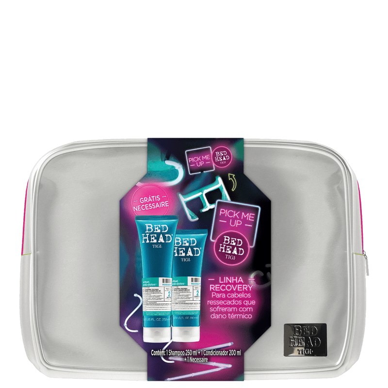 Kit TIGI Bed Head Urban Anti+Dotes 2 Recovery Pick Me Up (2 Produtos)