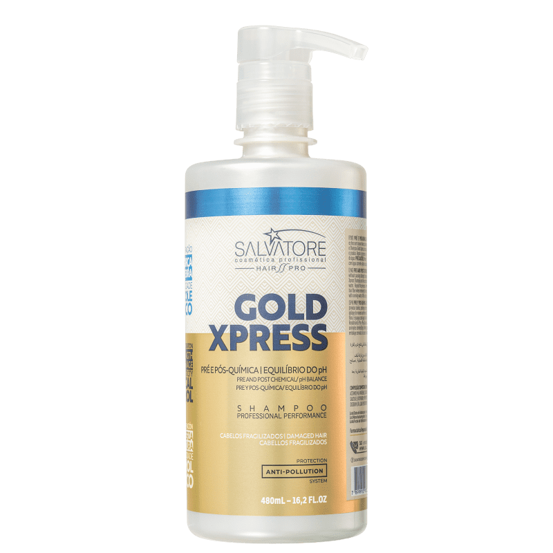 Salvatore Gold Xpress - Shampoo 480ml