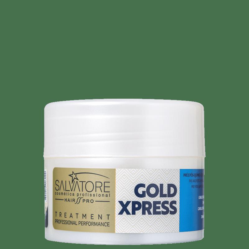 Salvatore Gold Xpress Pré e Pós-Química - Máscara Condicionadora 250ml