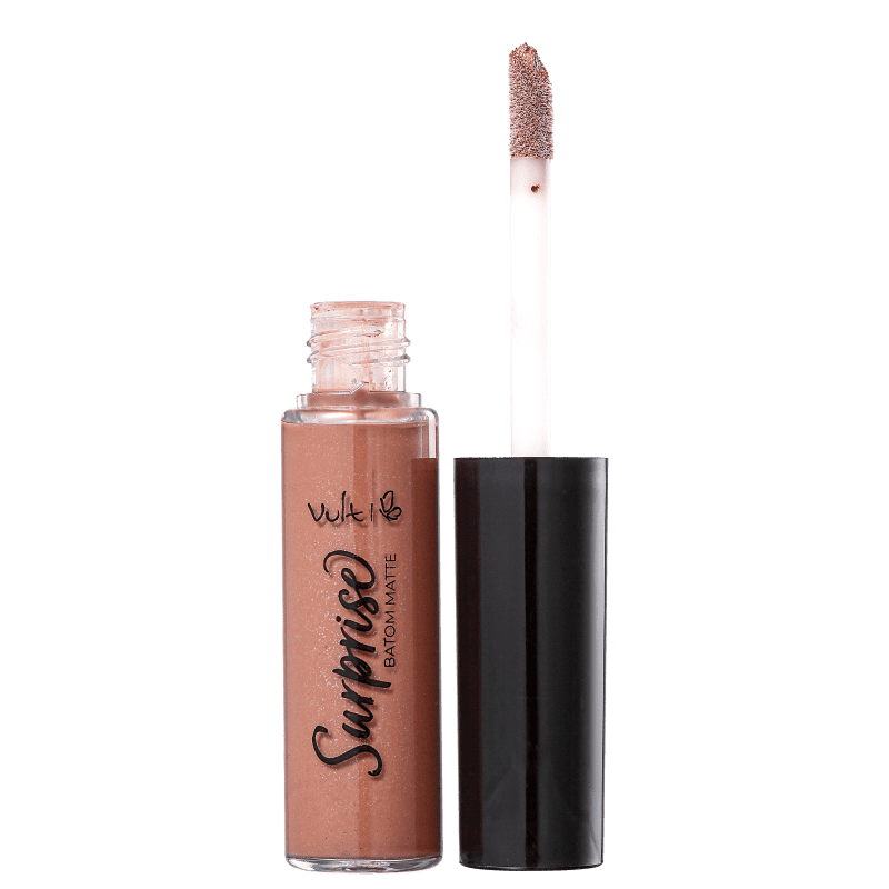 Batom Líquido Vult Surprise Matte Nude 5,6ml