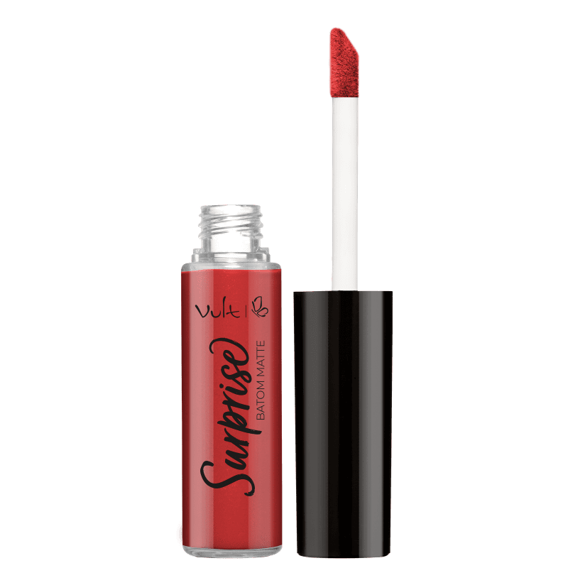 Vult Surprise Matte Illusion Red - Batom Líquido 5,6ml