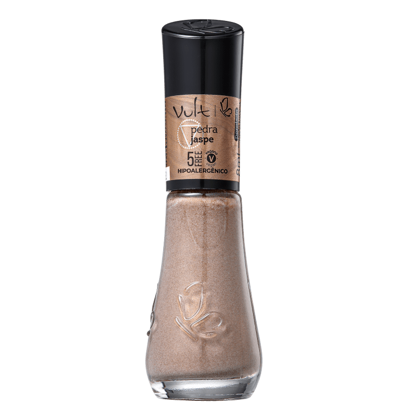 Esmalte Glitter Vult 5Free Energia das Pedras Jaspe 8ml