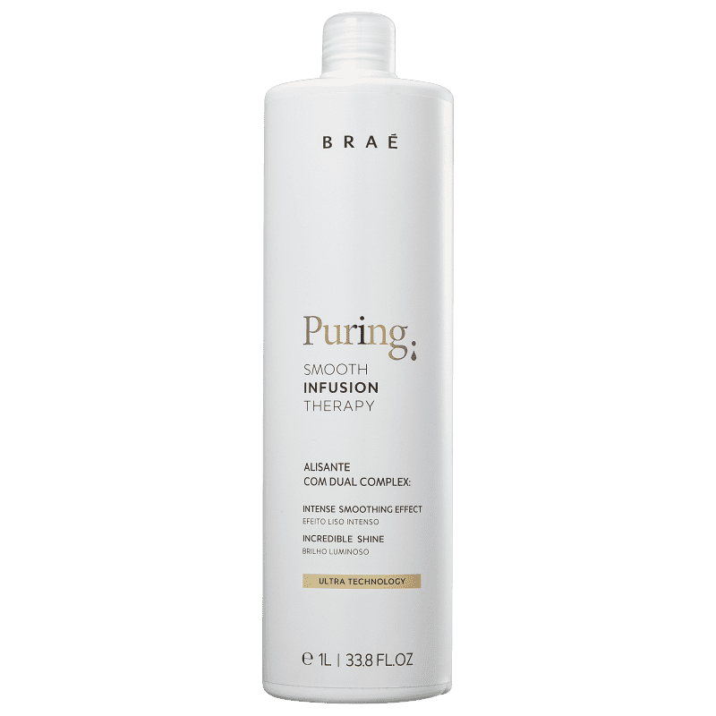 BRAÉ Puring Smooth Infusion Therapy - Redutor de Volume 1000ml