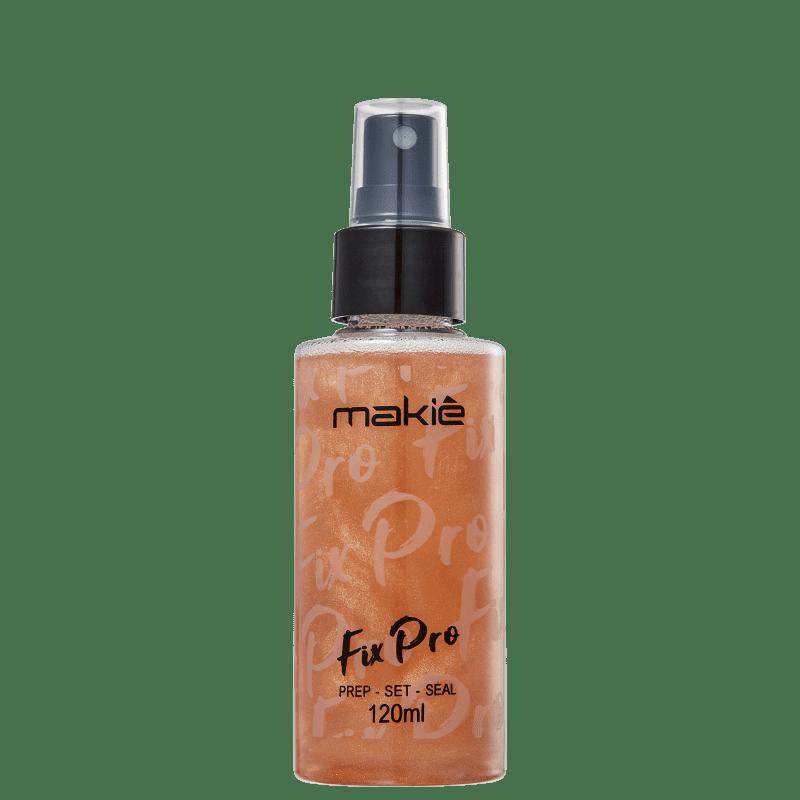 Makiê Fix Pro Bronze - Fixador de Maquiagem 120ml