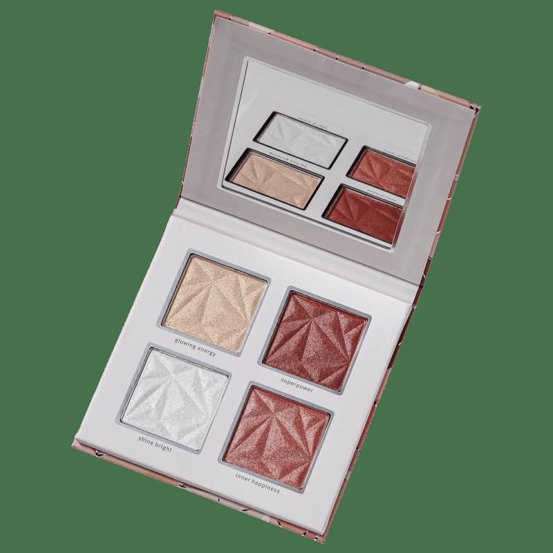 Essence Crystal Power - Paleta de Blush e Iluminador 14g