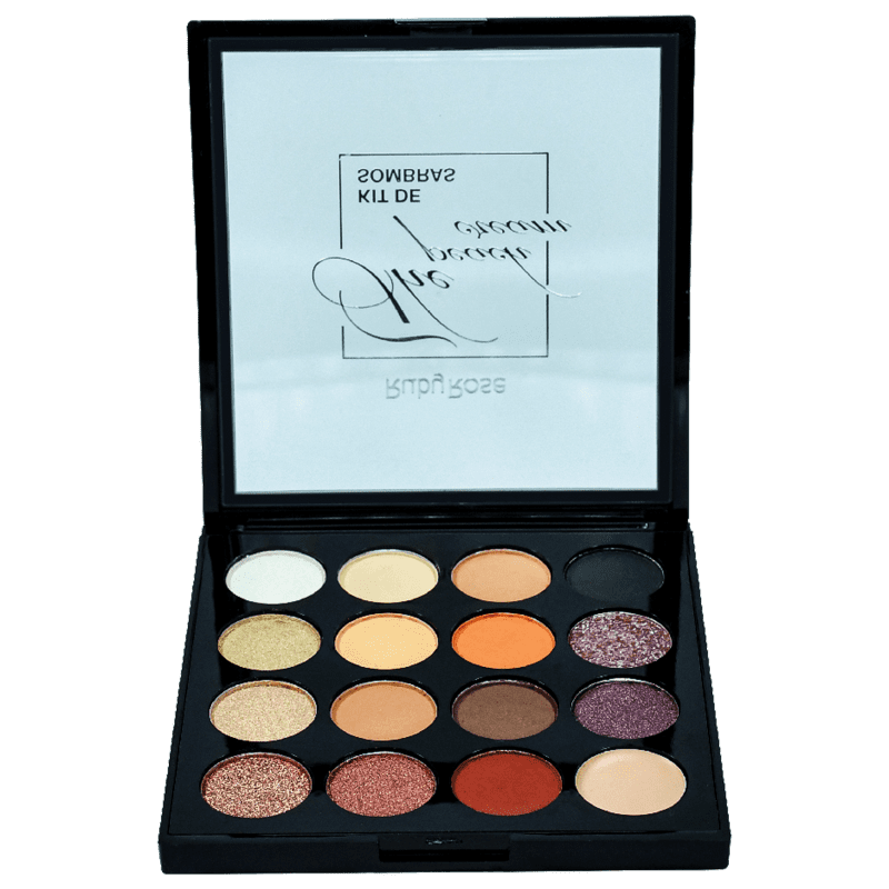 Ruby Rose The Peach Cream - Paleta de Sombras 11g