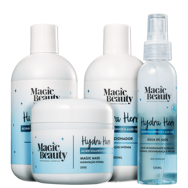 Kit Magic Beauty Hydra Hero Daily (4 Produtos)