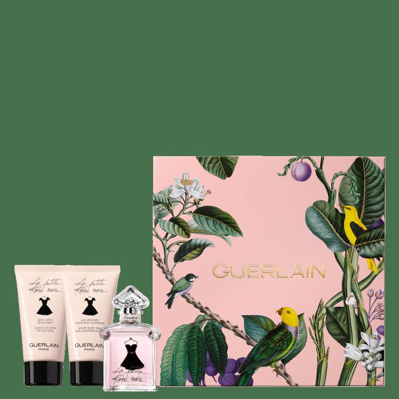 Conjunto La Petite Robe Noire Guerlain Feminino - Eau de Toilette 50ml + Loção Corporal 75ml + Gel de Banho 75ml