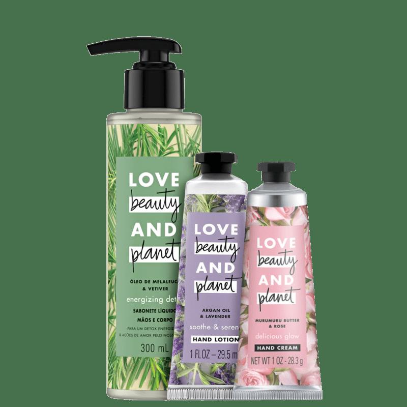 Kit Cuidado com a mãos: floral & fresco