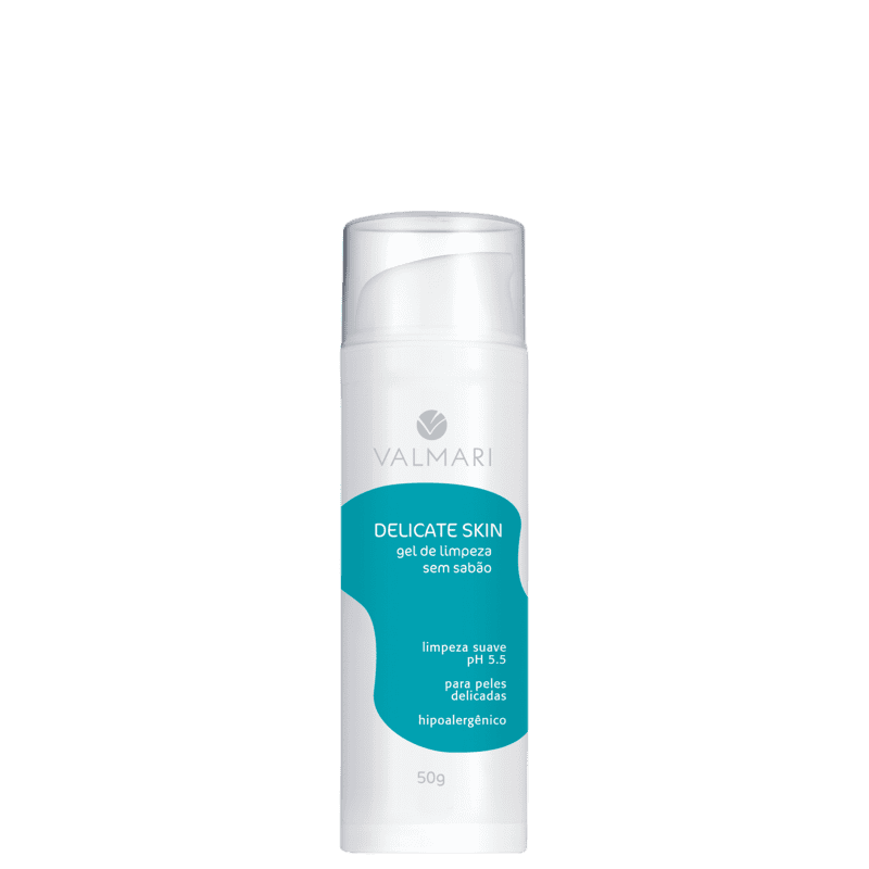 Valmari Delicate Skin - Gel de Limpeza 50g