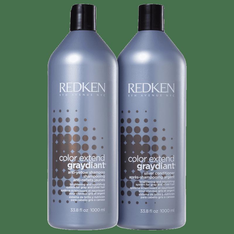 Kit Redken Color Extend Graydiant Duo Profissional (2 Produtos)