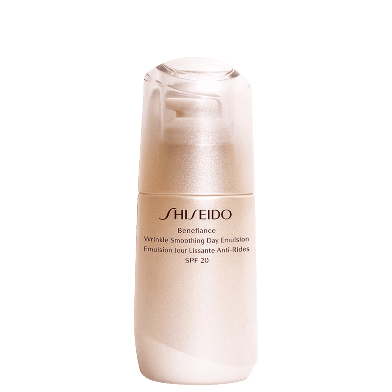 Shiseido Benefiance Wrinkle Smoothing Day FPS 20 - Emulsão Anti-Idade 75ml
