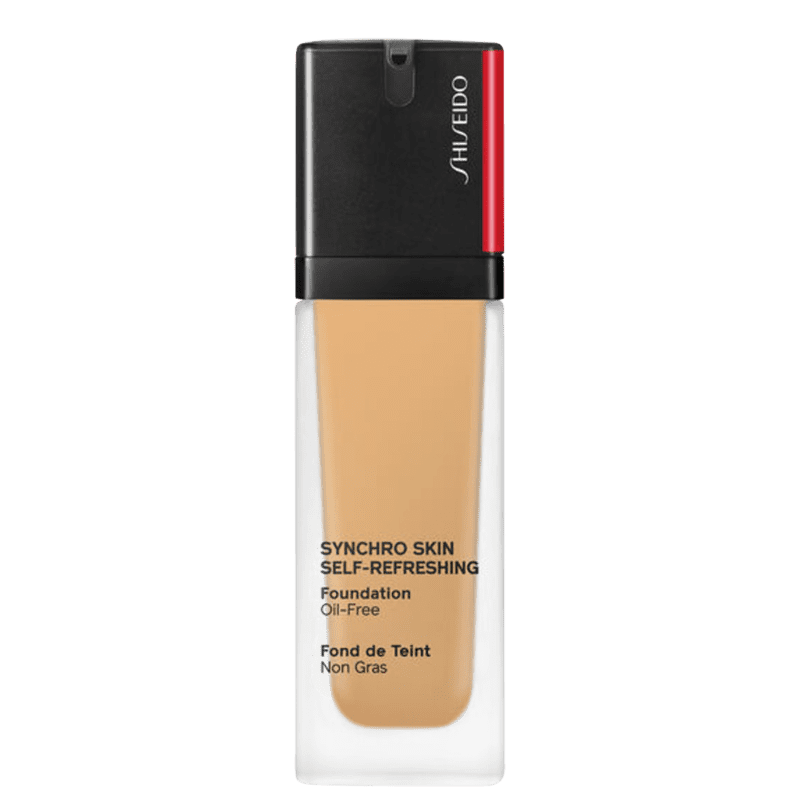 Shiseido Synchro Skin Self-Refreshing SPF 30 340 Oak - Base Líquida 30ml