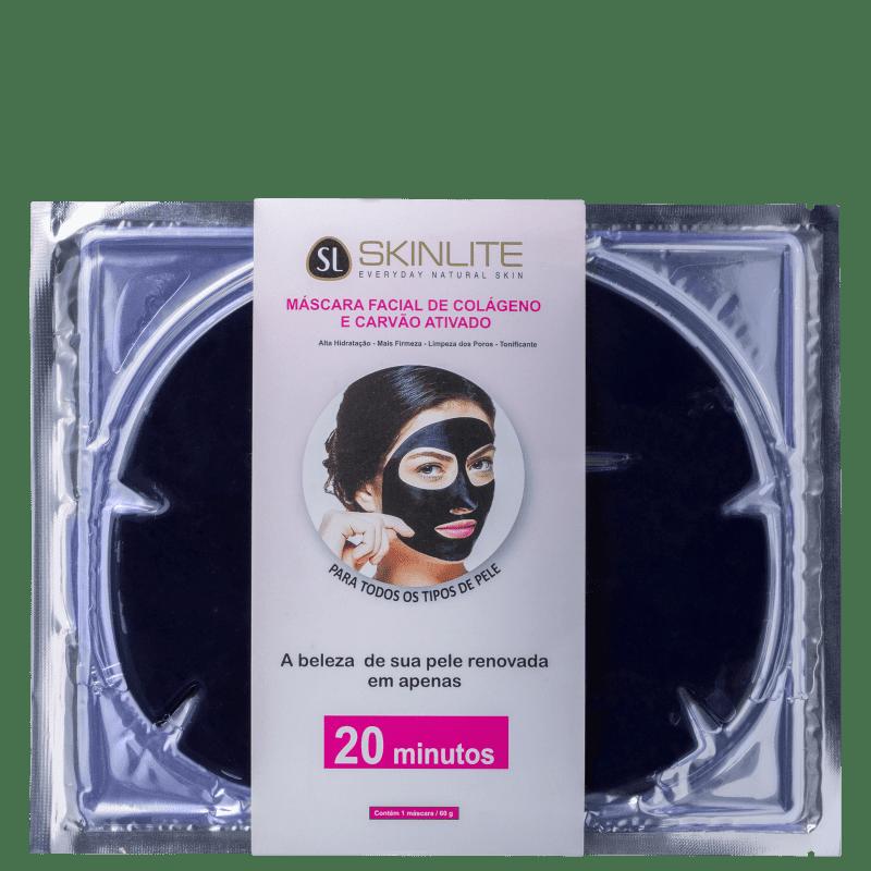 Skinlite Colágeno & Carvão Ativado - Máscara Facial 60ml