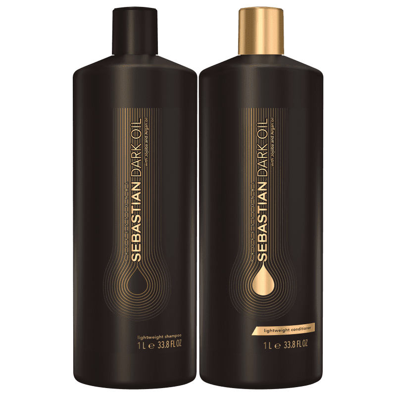 Kit Sebastian Professional Dark Oil Salon Duo (2 Produtos)