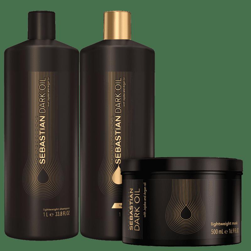 Kit Sebastian Professional Dark Oil Salon Trio (3 Produtos)