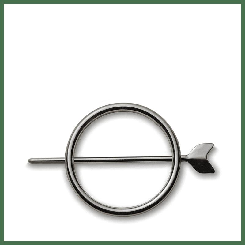 beautybox Seta Antique Silver - Prendedor de Cabelo