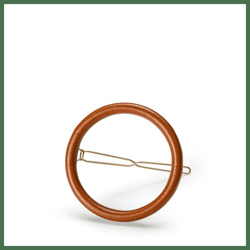 Beautybox Circle Clip Caramelo - Presilha de Cabelo 11,6g