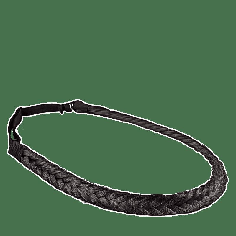 Beautybox Twist Preto - Tiara de Cabelo 2,6g