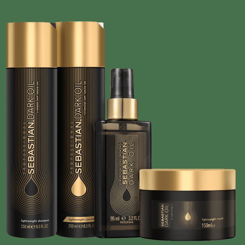 Kit Sebastian Professional Dark Oil Intenso (4 Produtos)