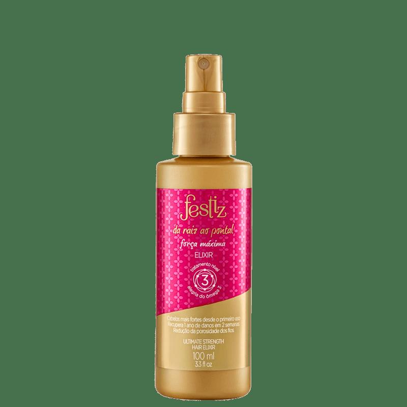 Festiz Da Raiz ao Pontal Elixir - Spray Leave-in 100ml